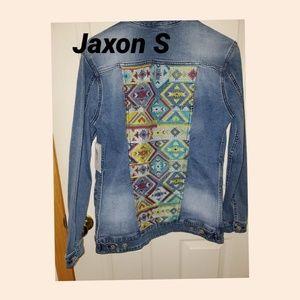 LulaRoe Jaxon Jean Jacket S NWT
